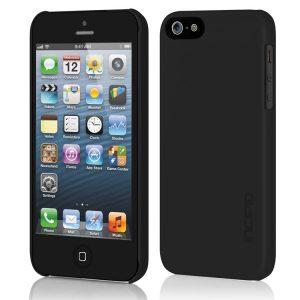 Estuche para iPhone 5 Incipio Feather Case (Negro)