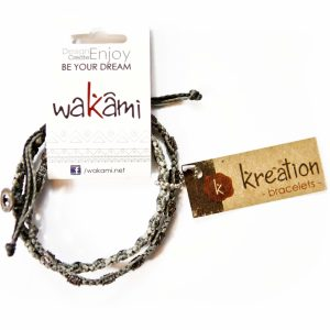 Brazalete Men's Kreation Wakami (Gris)