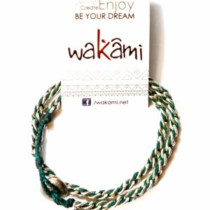 Good Luck Bracelet Wakami (Verde)