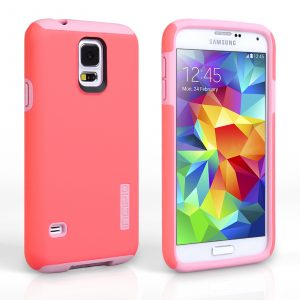 Funda para Samsung Galaxy S5 Incipio Dual Pro (Rosado)