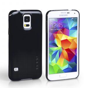 Funda para Samsung Galaxy S5 Incipio Feather Case (Negro)