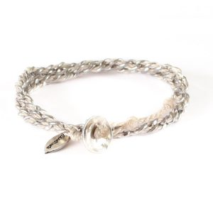 Good Luck Bracelet Wakami (Beige)