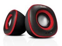 Bocinas alámbricas Klip Xtreme KES-215 rojo