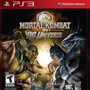 Videojuego Mortal Kombat vs DC Universe para PlayStation 3