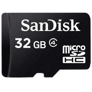 Tarjeta de memoria flash SanDisk 32gb