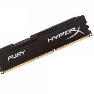 Memoria RAM DDR3 Marca Kingston HyperX Fury de 4GB para Notebook de 1600Mhz
