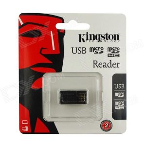 Lector de tarjetas microSD, microSDHC Kingston usb 2.0