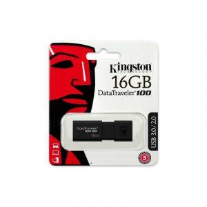 Memoria USB Kingston DT100 G3 16GB Color Negro