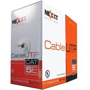 Cable UTP Cat5e Para Exteriores 1000ft Nexxt Solutions