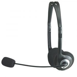 Audífonos Manhattan estereo diadema ajustable 3.5mm