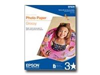 Epson - Papel de fotografía satinado con capa de resina - 101.6 x 152.4 mm 50 hoja(s)
