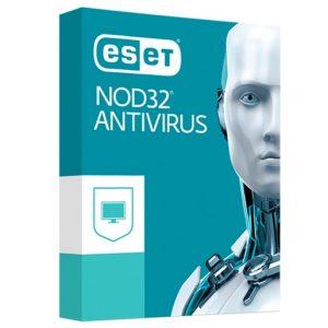 Antivirus ESET NOD32 Hogar y Pyme Para 1 Usuario Por 1 Año