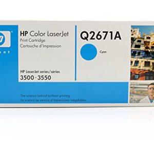 Toner HP Q2671A Para Impresora Laserjet 3500 Cyan