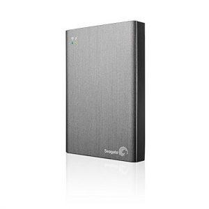Disco Duro Externo Seagate Wireless Plus 1TB Color Plateado