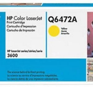 Toner HP Para Impresora LJ3600n Q66472A Amarillo