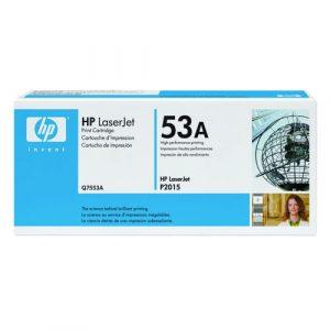 Tóner Para Laserjet HP P2015 7553A