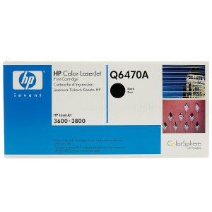 Toner HP para Impresora LJ3600n Q6470A Negro