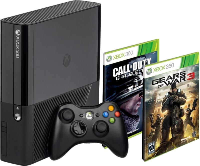 Consola Xbox 360 500gb Con 1 Control Inalambrico 2 Juegos