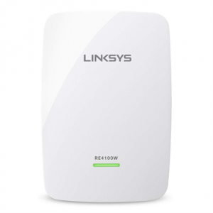 Extensor WiFi Linksys N600 RE4100W Doble Banda