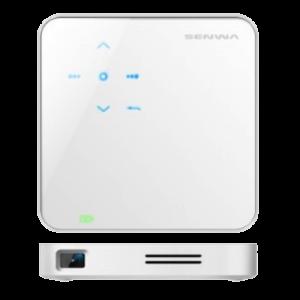 Proyector Movil SENWA WiFi P12 640x480 USB con trípode  blanco