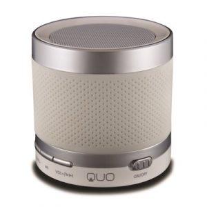 Bocina Bluetooth Marca Quo QSPR-303BT-WT 3W