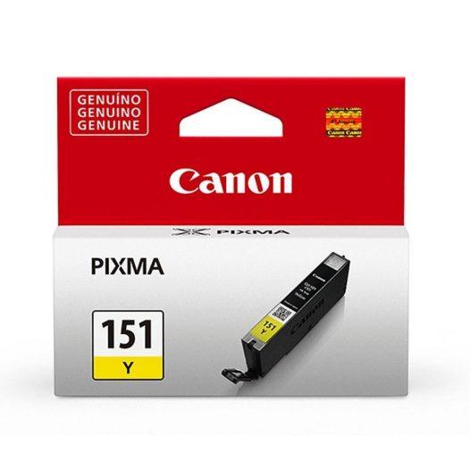 Cartucho original Canon cli-151 amarillo
