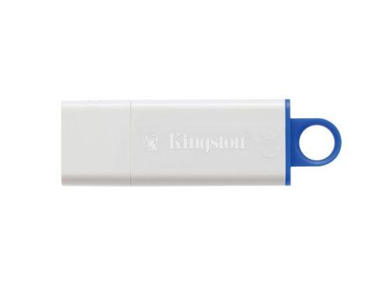 Memoria USB Kingston DTIG4 16GB Color Blanco con Azul