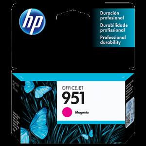 Cartucho HP 951 magenta