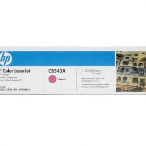 Toner HP CB543A para Impresora LJ1215 Color Magenta