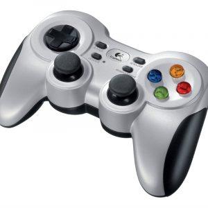 Gamepad Inalambrico Logitech F710 2.4GHZ con vibración 10 botones