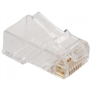 Intracom 502344 Conector Rj45 Para Cable Cat6E