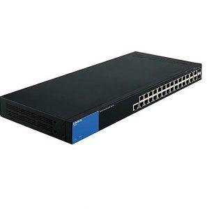 Switch gestionado Linksys LGS528 (conmutador)