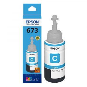 Botella de Tinta Epson 673 Cian (Refill)