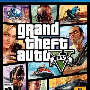 Videojuego Grand theft auto V PS4