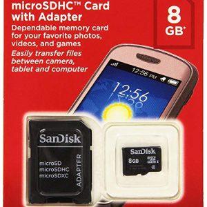 Memoria MicroSD Sandisk 8GB sin Adaptador Clase 4 Para Android