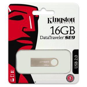 Memoria USB Kingston DT SE9 16GB Color Plateado