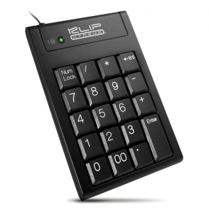 Teclado numérico alámbrico Klip Xtreme KNP-100 color negro
