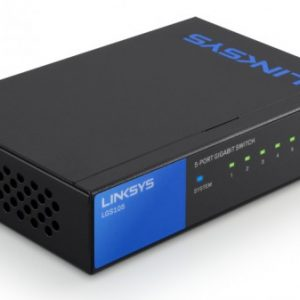 Conmutador Linksys SE3005 sin gestionar