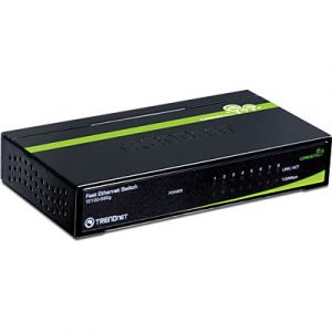 Switch TRENDnet TE100-S80g GREENnet 8 puertos 10/100