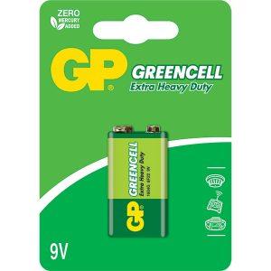 Bateria Gp Greencell Carbon 9v