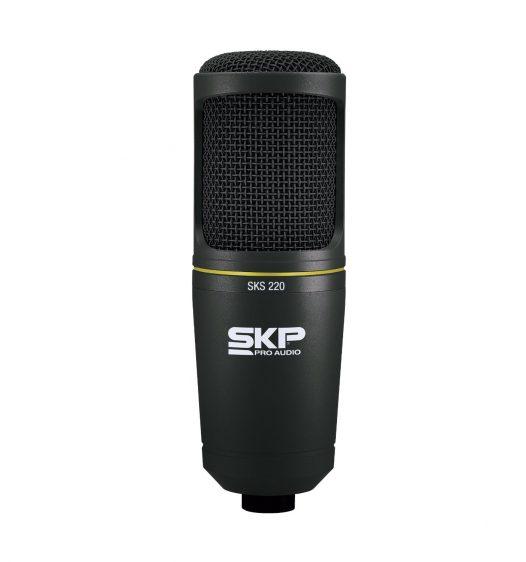 Micrófono SKP p/estudio condensado hipercardioide grande