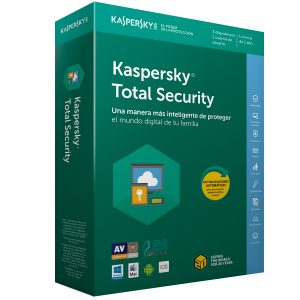 Kaspersky Total Security para 3 Usuarios 1 Año
