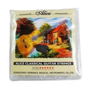 Cuerda Alice para guitarra acústica #4 10 piezas