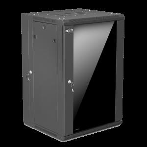 Gabinete para montaje en pared Nexxt Solutions SKD Negro 18U