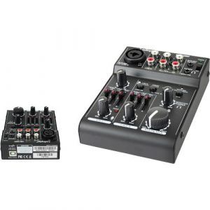 Consola Audiopipe 3 Canales Usb Datos/ Bluetooth