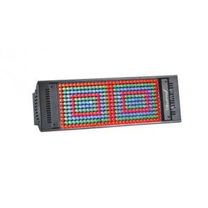 Luz LED Mitzu Storm Multicolor 6 Canales DMX 336 LEDS