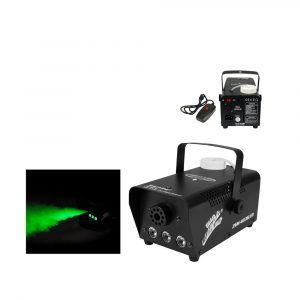 Maquina de humo Zebra 400W con luz led RGB