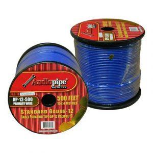 Cable Audiopipe Primario Cal 12 Azul  500'
