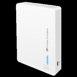 Batería portátil GP 12000 mah doble usb blanco