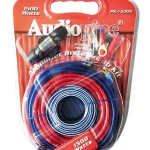 Kit de instalación Audiopipe calibre 8 rojo